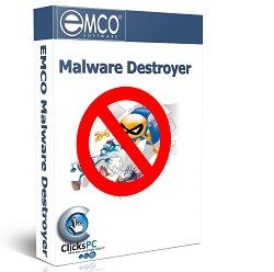 EMCO Malware Destroyer v8.0.10.1533 - نرم افزار حذف بدافزارهای جاسوسی