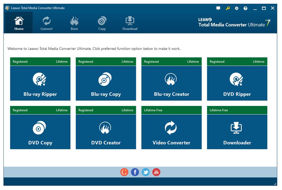 Leawo Total Media Converter Ultimate 7.4.4.0 Crack - کامل ترین نرم افزار تبدیل فرمت