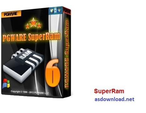 SuperRam 7.6.27.2016 - نرم افزار افزایش سرعت رم کامپیوتر