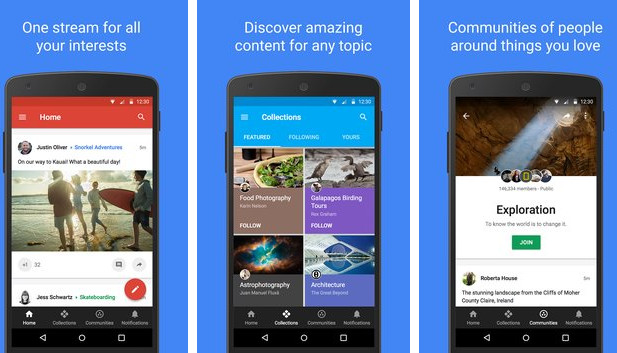 google-plus-for-android