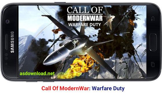 دانلود بازی هواپیمایی جنگ های مدرن برای اندروید - Call Of ModernWar: Warfare Duty v1.1.0
