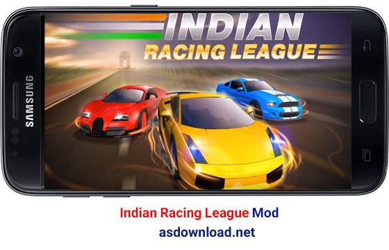 دانلود بازی Indian Racing League v1.3 Mod – مسابقه ماشین سواری هندی