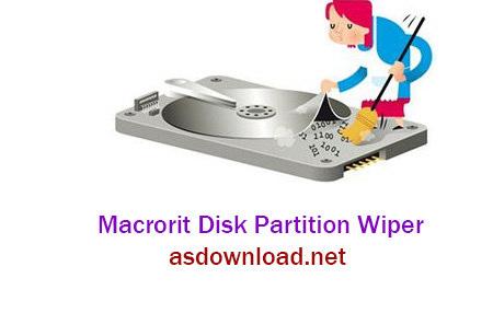 دانلود نرم افزار حذف غیر قابل ریکاوری اطلاعات هارد دیسک - Macrorit Disk Partition Wiper 2.1.0 Unlimited Edition
