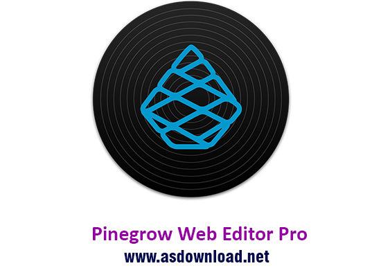 دانلود نرم افزار  Pinegrow Web Editor Pro 2.9  - طراحی سایت بدون نیاز به کد نویسی