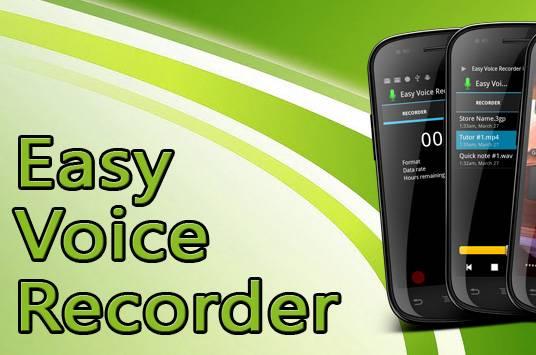 Easy Voice Recorder Pro v2.2.1 - نرم افزار ضبط صدا برای اندروید