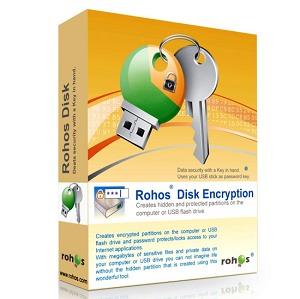 Rohos Disk Encryption - نرم افزار رمزگذاری و ایجاد فضای مخفی
