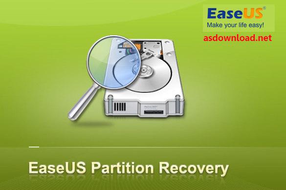 دانلود نرم افزار ریکاوری پارتیشن های پاک شده EASEUS Partition Recovery 8.5