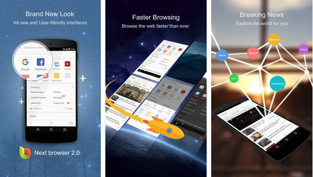 Next Browser - Fast & Private