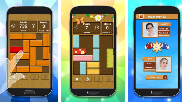 Unblock Me android game