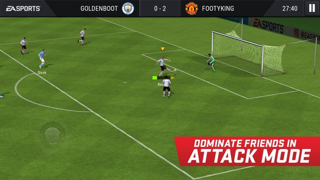FIFA Mobile Soccer game
