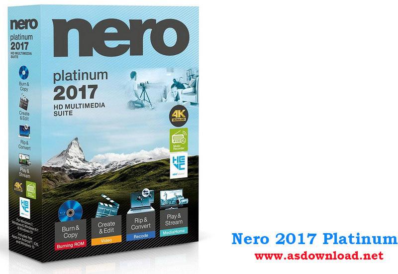 Nero 2017 Platinum 18.0.06100 / Burning ROM & Nero Express 18.0.00800 - قویترین نرم افزار رایت CD و DVD