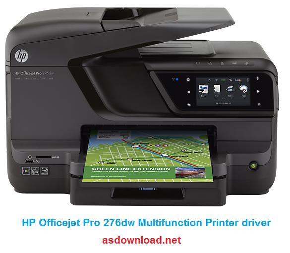دانلود درایور HP Officejet Pro 276dw ویندوز 10