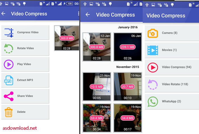 Video Compress android