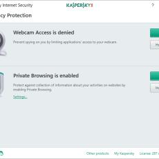 1 Kaspersky Internet Security