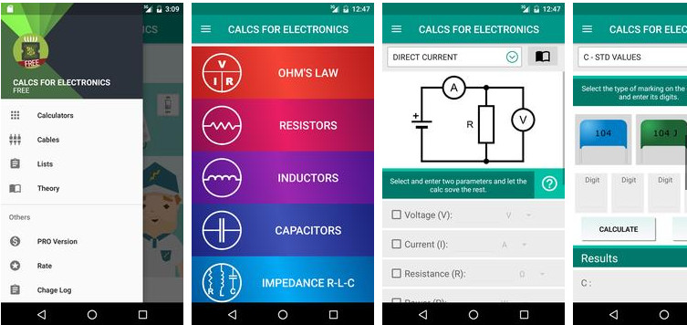 Electrical Electronics Calc APK