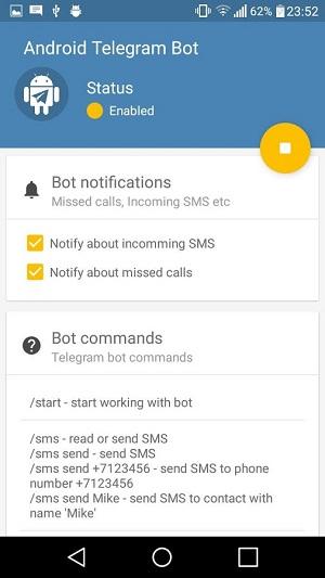 Remote Bot for Telegram 1