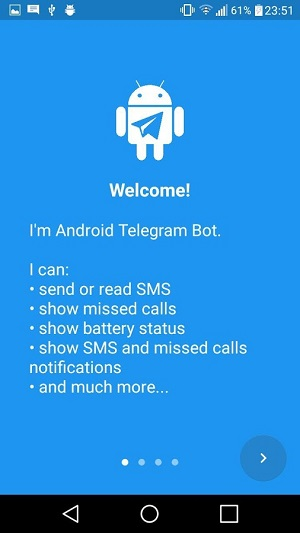 Remote Bot for Telegram android