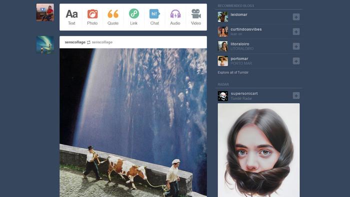 Tumblr 7.6.0.20 - اپلیکیشن شبکه اجتماعی تامبلر برای اندروید