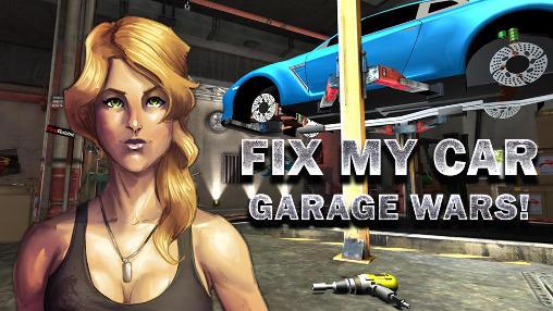 Fix my car: Garage wars-بازی آموزش تعمیر ماشین برای اندروید