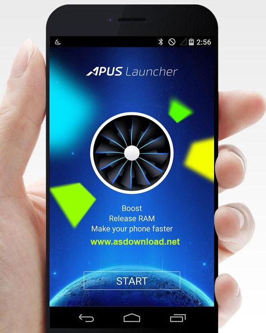 APUS Launcher-Small, Fast-لانچر ایسوس برای آندروید