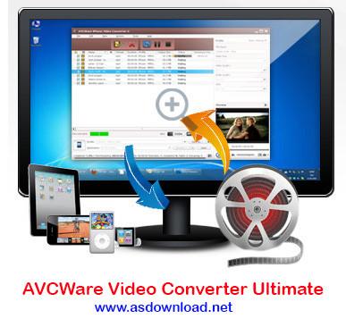 دانلود نرم افزار AVCWare Video Converter Ultimate 7.7.3- تبدیل فرمت حرفه ای برای تمامی فیلم ها