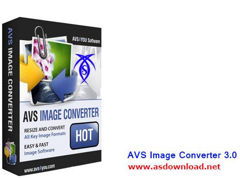 دانلود نرم افزار تبدیل فرمت عکس – AVS Image Converter 3.0