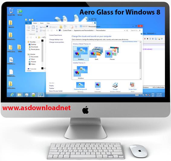 دانلود Aero Glass for Windows 8 – نرم افزار فعال سازی سبک شیشه ای شفاف پنجره ها