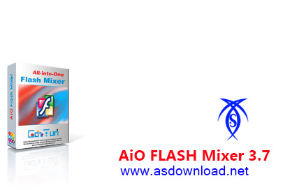 دانلود AiO FLASH Mixer 3.7 0 - نرم افزار طراحی و ویرایش بنر فلش