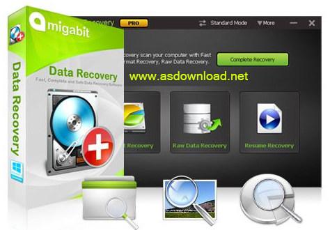 دانلود نرم افزار بازیابی اطلاعات- Amigabit Data Recovery Enterprise 2.0.3.0
