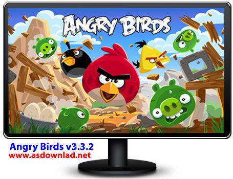 دانلود بازی پرنده گان خشمگین برای کامپیوتر – Angry Birds v3.3.2
