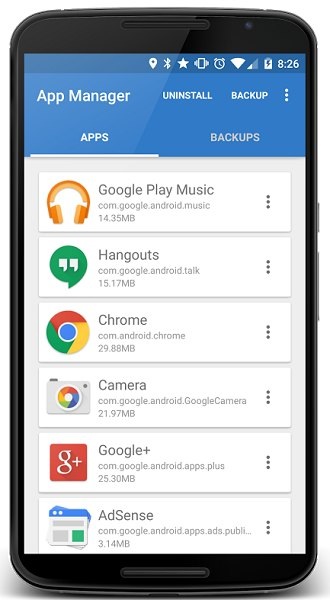 App Manager android 1