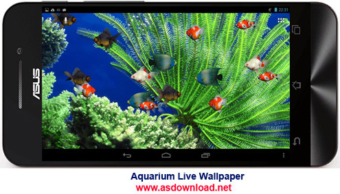 Aquarium Live Wallpaper-والپیپر زنده آکورایوم برای آندروید