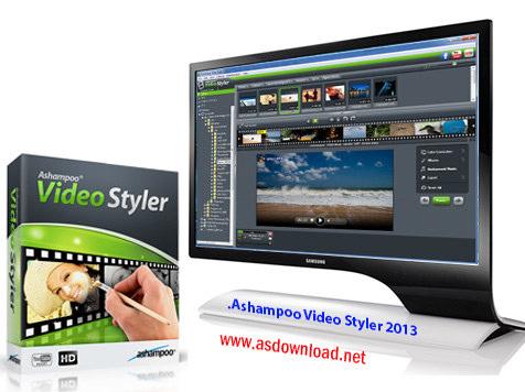 دانلود 2014 Ashampoo Video Styler - نرم افزار ایجاد افکت و جلوه های ویژه بر روی فیلم ها