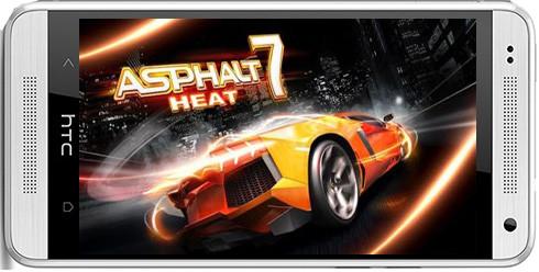 Asphalt 7 Heat-دانلود بازی بلوتوثی و دو نفره آسفالت 7 برای آندروید