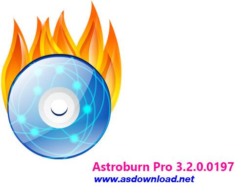 دانلود Astroburn Pro 3.2.0.0197- نرم افزار رایت cd و DVD