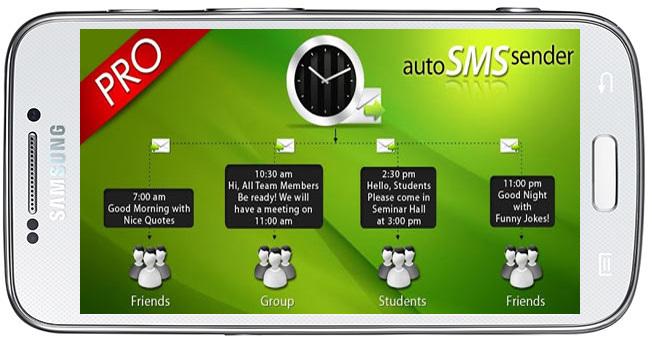Auto SMS Sender Pro v10.0-نرم افزار ارسال پیامک خودکار طی به صورت زمان بندی
