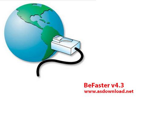 دانلود BeFaster v4.3 – نرم افزار افزایش سرعت اینترنت