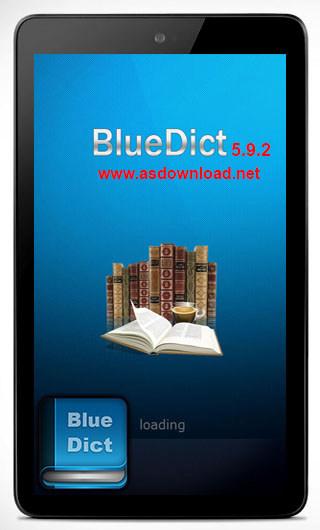 دانلود دیکشنری انگلیسی به فارسی آندروید-BlueDict 5.9.2 + Database