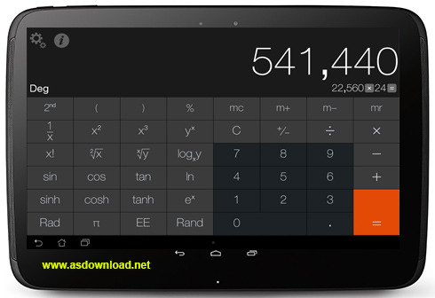 Calculator Pro-دانلود ماشین حساب پیشرفته برای آندروید