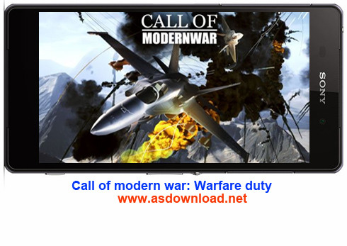 Call of modern war: Warfare duty-بازی جنگی بمباران هوایی