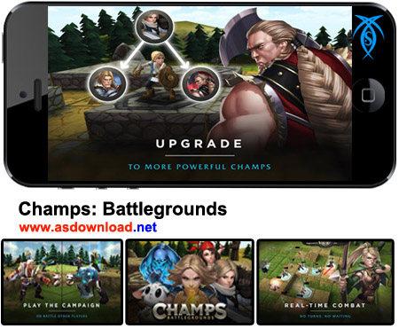 دانلود Champs: Battlegrounds – بازی شانزه میدان های نبرد برای آندروید+ دیتا