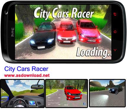 Photo of دانلود بازی مسابقه ماشین های مسابقه شهری برای آندروید-City Cars Racer + فایل دیتا