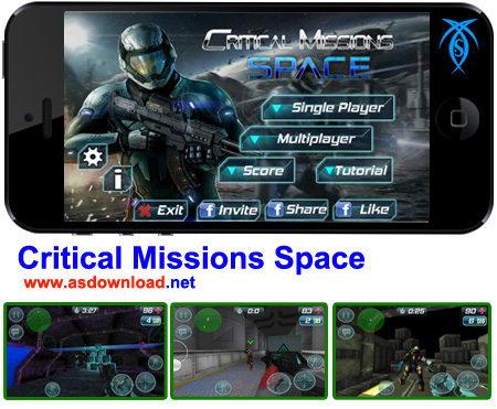 Photo of دانلود Critical Missions Space- بازی مالتی پلیر ماموریت های فضایی