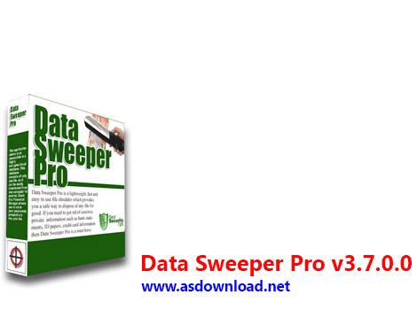 دانلود Data Sweeper Pro v3.7.0.0 - نرم افزار حذف اطلاعات به صورت غیر قابل بازگشت