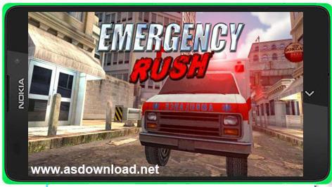 Emergency rush- بازی  عجله اضطراری رانندگی با آمبولانس