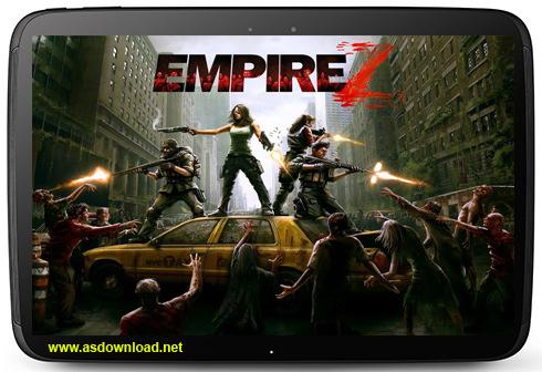 Empire Z- دانلود بازی جنگی امپراتوری زومبا برای آندروید