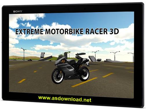Extreme motorbike racer 3D-بازی موتور سواری برای آندروید