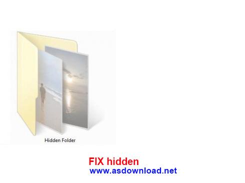 دانلود نرم افزار نمایش فایل های مخفی شده توسط ویروس ها FIX hidden