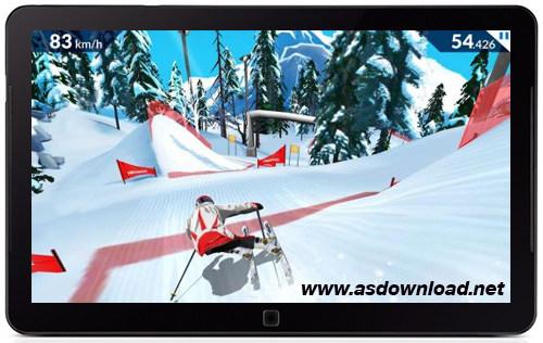 دانلود FRS Ski cross- بهترین بازی اسکی برای آندروید