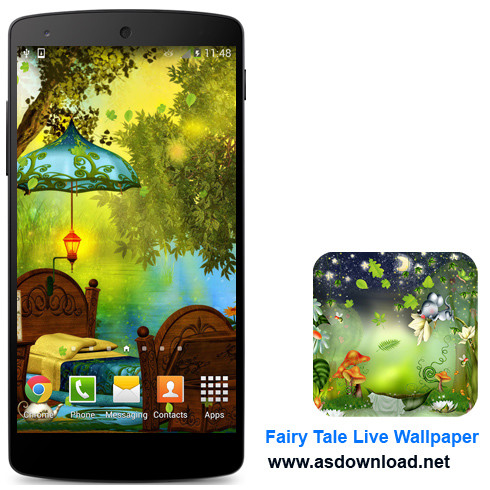 Fairy Tale Live Wallpaper-دانلود والپیپر متحرک برای آندروید
